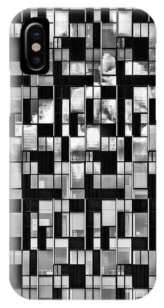 North London iPhone Case - Squaretangles by Tim Gainey