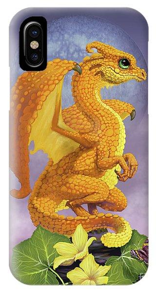 Squash Dragon IPhone Case