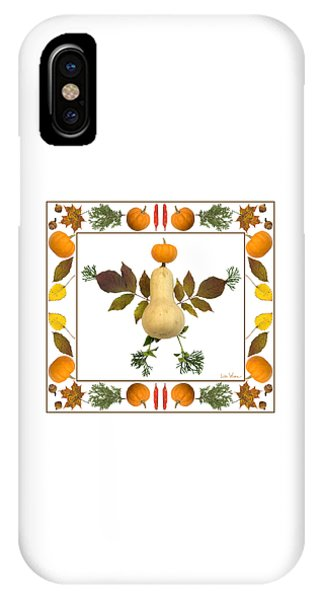 Squash With Pumpkin Head IPhone Case