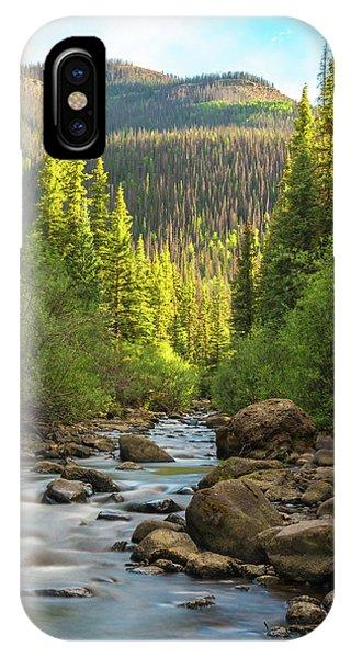Squaw Creek, Colorado #2 IPhone Case