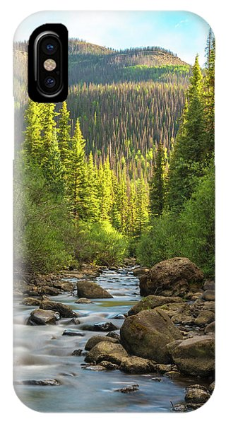 Squaw Creek, Colorado #2 IPhone Case