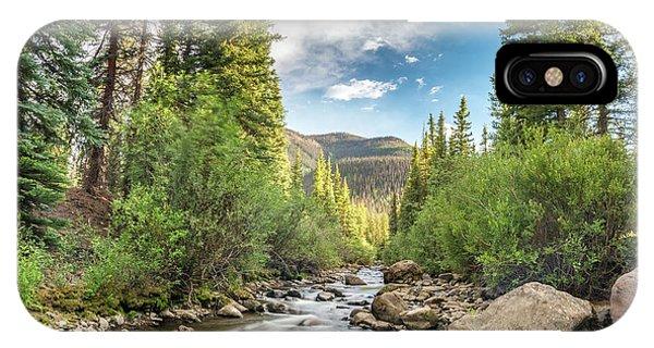 Squaw Creek, Colorado IPhone Case