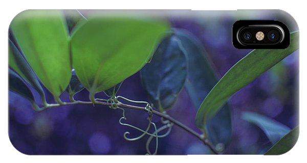 squiggle Vine IPhone Case