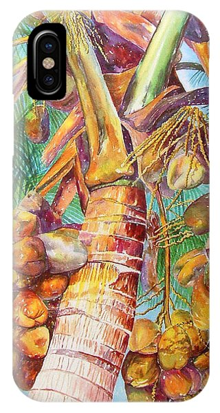 Squire's Coconuts IPhone Case