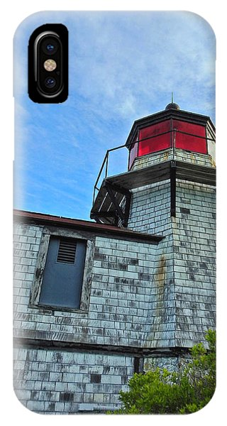 Squirrel Point Lighthouse IPhone Case