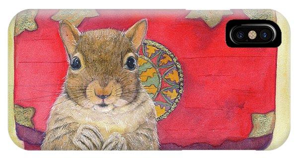 Squirrel Secret IPhone Case