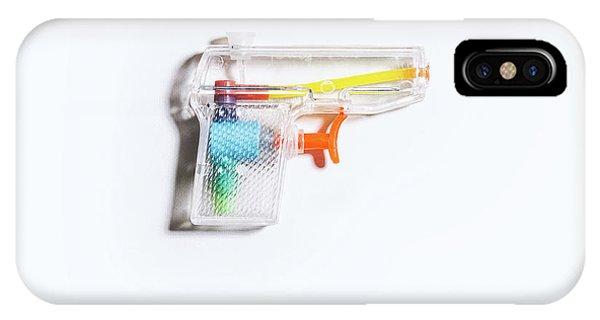 Minimal iPhone Case - Squirt Gun by Scott Norris