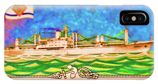 S.s Geestland And House Flag Geest Line IPhone Case