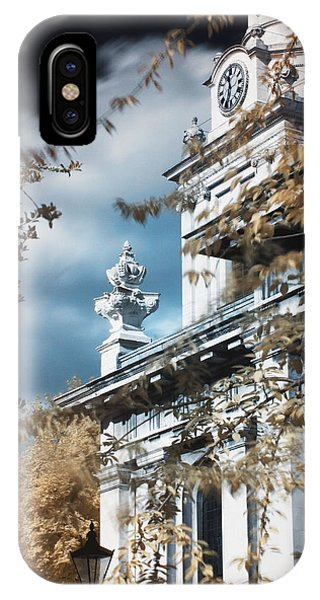 St Alfege Parish Church In Greenwich, London IPhone Case