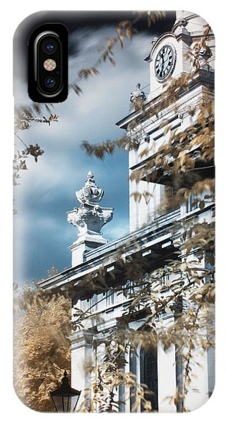 IPhone Case featuring the photograph St Alfege Parish Church In Greenwich, London by Helga Novelli