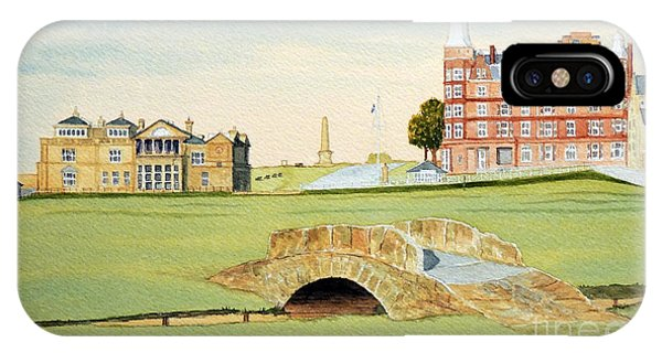 St Andrews Golf Course Scotland Classic View IPhone Case