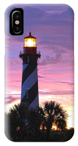 St. Augustine Light IPhone Case