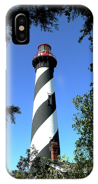 St. Augustine Light Tower IPhone Case