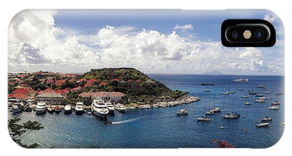 IPhone Case featuring the photograph St. Barths Harbor At Gustavia, St. Barthelemy by Lars Lentz