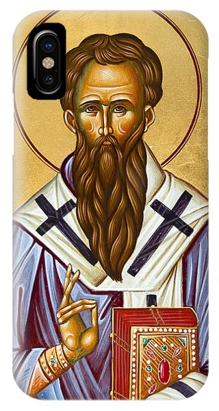 St Basil The Great Phone Case by Julia Bridget Hayes