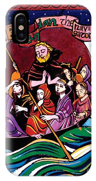 St. Brendan The Navigator - Mmbre IPhone Case