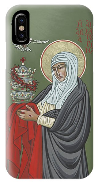 St Catherine Of Siena- Guardian Of The Papacy 288 IPhone Case