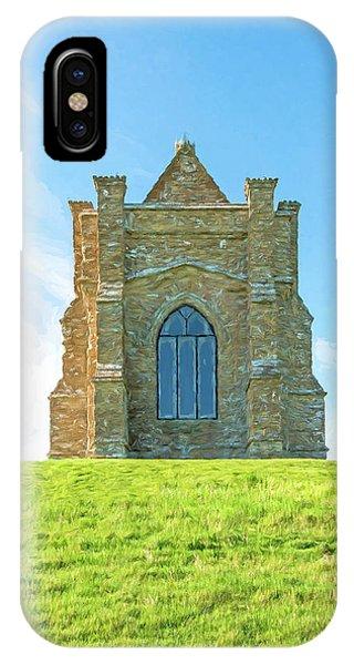 Dorset iPhone Case - St. Catherine's Chapel 3 by Roy Pedersen