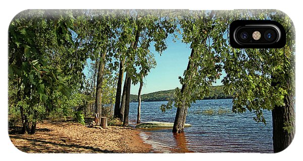 St Croix River Shoreline IPhone Case