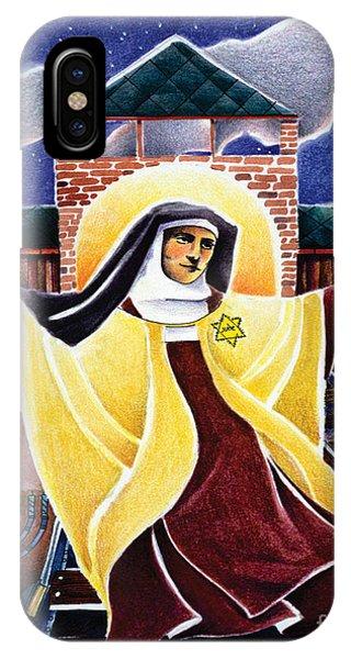 St. Edith Stein - Mmedi IPhone Case
