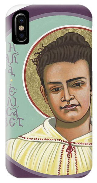 IPhone Case featuring the painting St Elizabeth Of The Trinity- 295 by William Hart McNichols