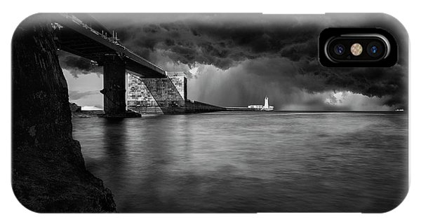 St. Elmo Breakwater Footbridge IPhone Case