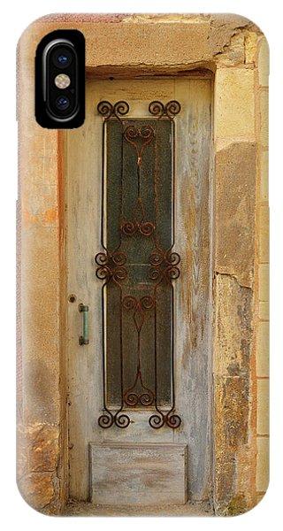 iPhone Case - St. Emilion Door by Kathy Yates