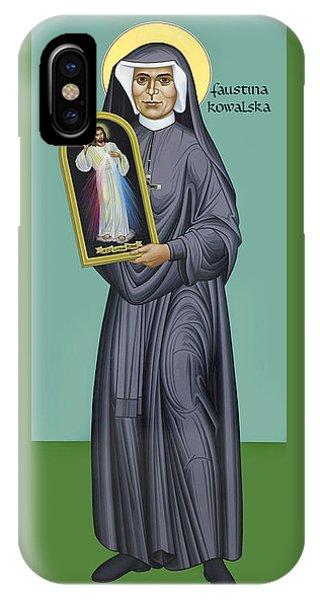 St. Faustina Kowalska - Rlfak IPhone Case