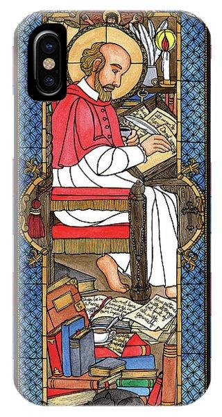 St. Francis De Sales IPhone Case