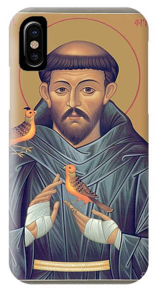 St. Francis Of Assisi - Rlfob IPhone Case