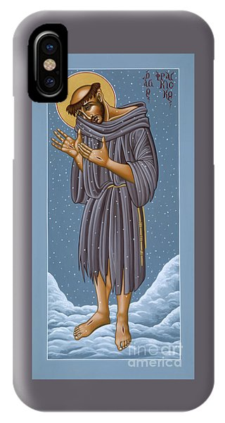 St Francis Wounded Winter Light 098 IPhone Case