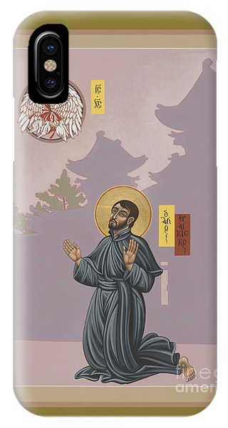 St Francis Xavier Adoring Jesus The Mother Pelican 164 IPhone Case