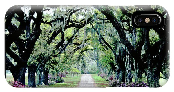 St Francisville Plantation IPhone Case