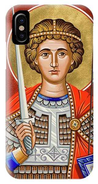 St. George Of Lydda - Jcgly IPhone Case