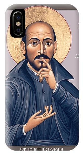 St. Ignatius Loyola - Rligl IPhone Case