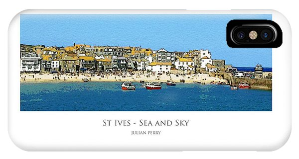 St Ives Sea And Sky IPhone Case
