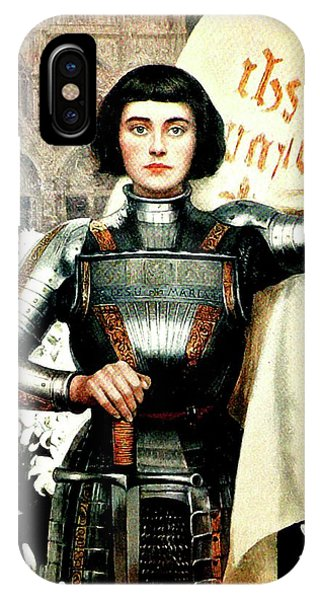 Lutheran iPhone Case - St Joan Of Arc - Jeanne D'arca by Albert Lynch