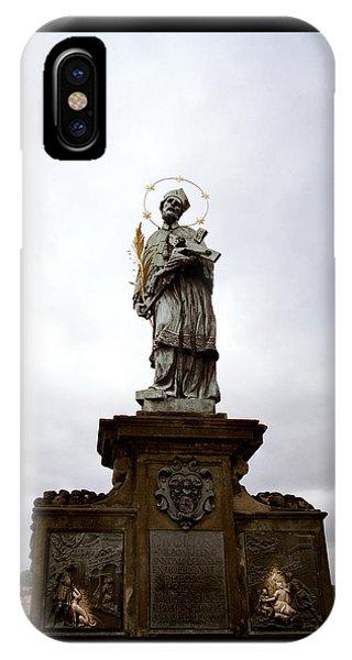 Saint John Of Nepomuk IPhone Case