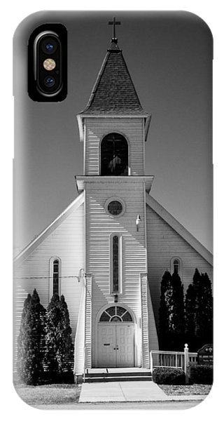 St John The Baptist Church - Arena - Wisconsin IPhone Case