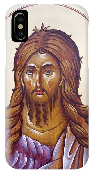 St John The Forerunner And Baptist Phone Case by Julia Bridget Hayes