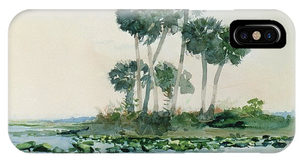 Homer iPhone Case - St John's River Florida by Winslow Homer