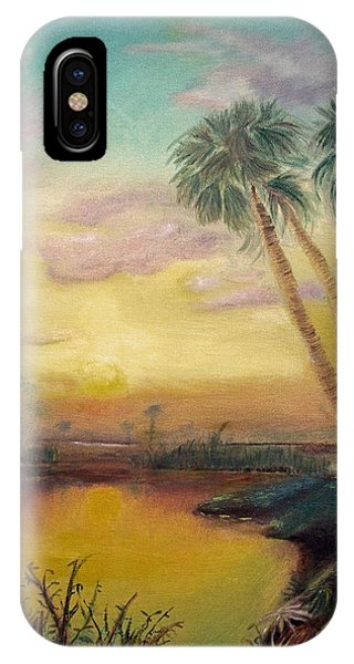 St. Johns Sunset IPhone Case