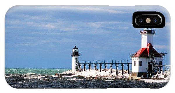 St. Joseph Lighthouse - Michigan IPhone Case