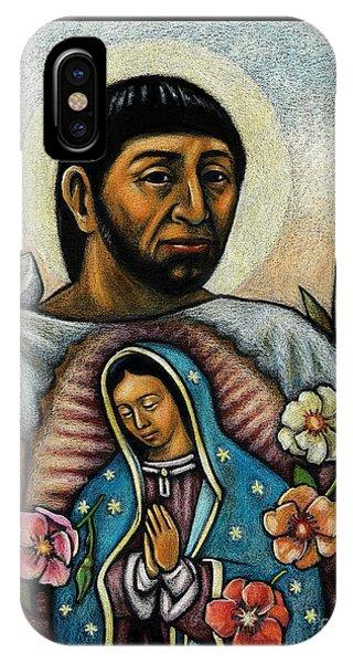 St. Juan Diego And The Virgins Image - Jljdv IPhone Case