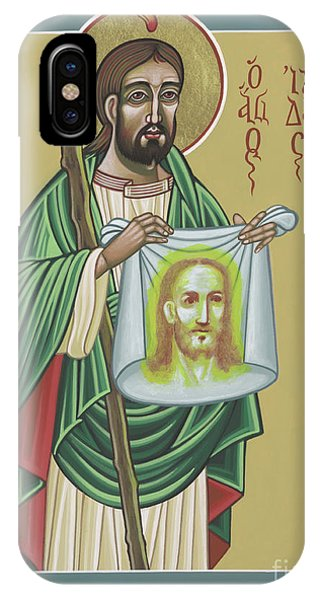 St Jude Patron Of The Impossible 287 IPhone Case