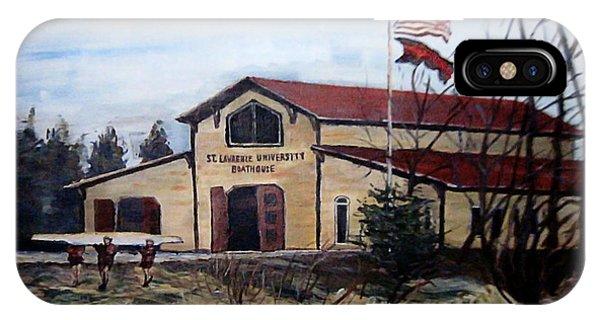 St. Lawrence Boathouse IPhone Case