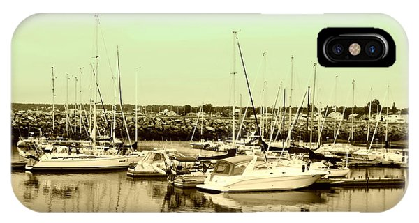 St. Lawrence Seaway Marina IPhone Case