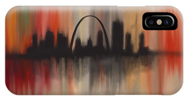 Gateway Arch iPhone Case - St Louis Breakdown by Jen Gray