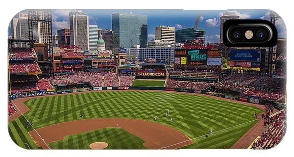 St. Louis Cardinals Busch Stadium Creative 16 IPhone Case