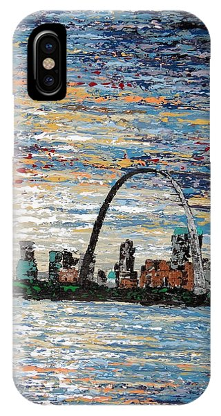 Gateway Arch iPhone Case - St Louis by Daniela Pasqualini